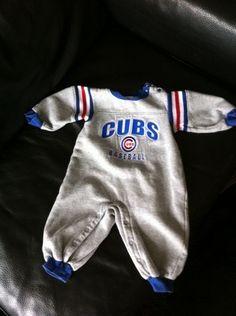 Chicago Cubs Onesie 12 Months | eBay