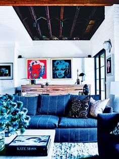 """House tour: inside a TV producer's family-friendly Melbourne home: After buying the home, last renovated in the 1980s, the family lived in it for a while before commissioning interior designer Darren Palmer to carry out a makeover, honouring the building's past while ushering it into the present. """"We wanted to strip it back to the original features and then overlay it with a 'new traditional' style,"""" says Cress."""