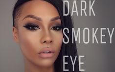 Trendy makeup looks for black women smokey eye Ideas – - Makeup Tutorial Foundation Smoky Eye Makeup Tutorial, Eye Tutorial, Eyebrow Makeup, Makeup Geek, Makeup Jokes, Makeup Palette Storage, Dark Smoky Eye, Fall Makeup Looks, Makeup Photography