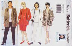 90s Butterick Fast & Easy Pattern 6222 Delta Burke by CloesCloset, $10.00