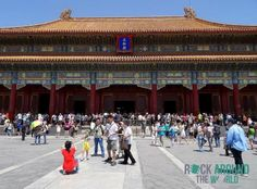 Tai He Dian – Hall of Supreme Harmony for important ceremonies and celebrations in the Forbidden City, Beijing