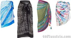 Sarongs | 40plusstyle.com