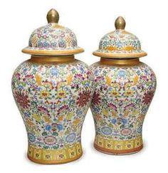 mandarin period design images | Chinese Porcelain Jars