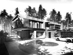 The forest villa by Paul Rodgers Architects