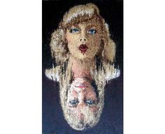 11 Pointillist Art Pieces - From Diva Dice Designs to Realistic Embroidered Portraits (CLUSTER)