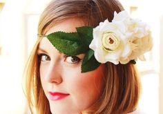 Plan B a n n a · e v e r s DIY flower crown tutorial at www.planb.annaevers.com