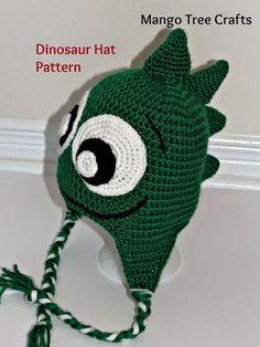 Free dinosaur crochet pattern: