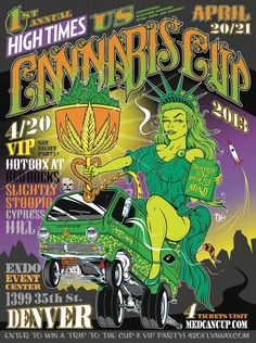High Times Plans 1st US Cannabis Cup. Slightly Stoopid & Cypress Hill to Play VIP Party at Red Rocks on 420!