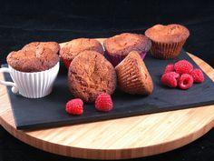 Muffins à la framboise de Jeanne