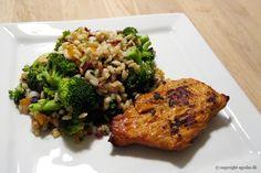 EGOSHE.dk - En madblog med South Beach opskrifter og andet godt...: Kylling med perlebyg-salat