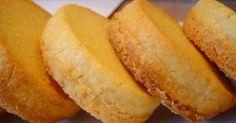 Esta es una receta francesa,de Bretaña,y son una galletas de mantequilla , !muy ricas!, de esas que se derriten en la boca.   Yo suelo hace... Portuguese Recipes, Mexican Food Recipes, Sweet Recipes, Cookie Recipes, Dessert Recipes, Desserts, Buttery Cookies, Yummy Cookies, Biscuits