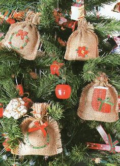adornos rusticos navideños - Buscar con Google