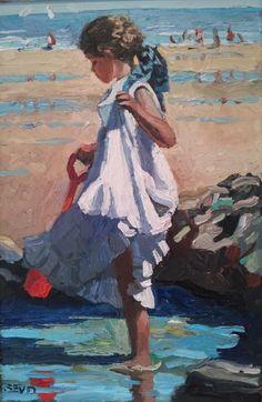 Sherree Valentine Daines | St Ives Art Gallery - Waterside - St Ives