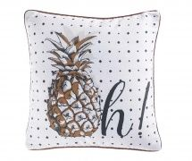 Ananas Fun Párnahuzat 40x40 cm Latex, Decoration, Throw Pillows, Tote Bag, Fun, Styles, Dimensions, Couture, Products
