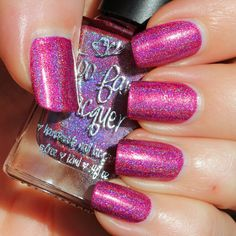 Too Fancy Lacquer Star-Crossed Lovers (The Holo Grail Box by Dazzled - February 2015)