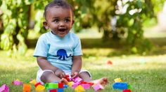 Child Development and Early Learning African Baby Boy Names, African American Babies, American Baby, Childcare Costs, Nick Names For Boys, Boys Playing, Baby Center, Happy Baby, Outdoor Play