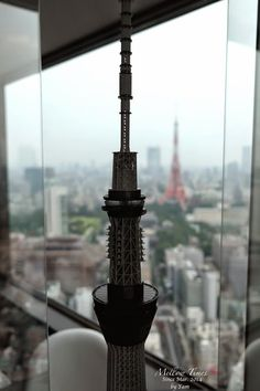 世界貿易センタービル展望台 (SEA SIDE TOP) 「2つのタワー」 #cooljapan  #100tokyo