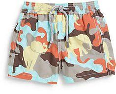 http://www.shopstyle.com: Vilebrequin Infant's Camo Swim Trunks