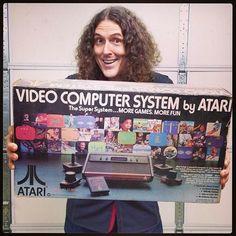 #WeirdAl and #Atari :)