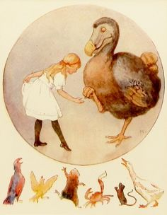 The Dodo Bird - Alice in Wonderland