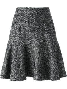 Dolce & Gabbana Saia com tweed