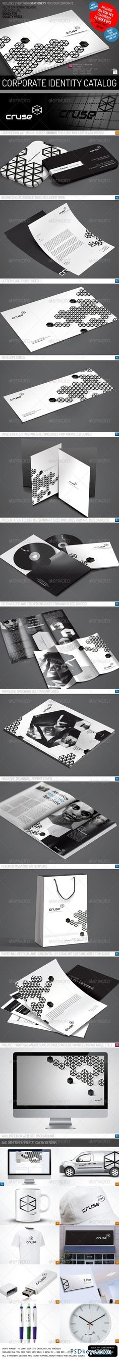 Minimal Creative Corporate Identity Catalog v7 2092466