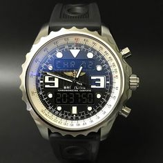 Breitling Professional Chronospace Chronometer. #watchporn #watchmania #wristwatch #watchoftheday #timepiece #secondhand #instawatch #secondoriginalwatch #jamtanganseken #preownedwatch #luxurywatch. www.mulialegacy.com