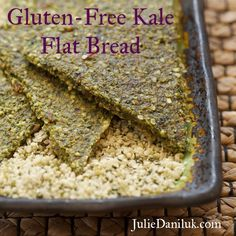 This flat bread comes out a beautiful shade of deep green and is slightly tender on the inside and crisp on the outside. It is a tasty way to sneak a little bit more kale into your diet. Kale contains high levels of sulfur compounds such as sulforaphane and isothiocyanates. Both of these compounds help the liver to do a series of important tasks including fat metabolism. Sulfur compounds help the liver to produce bile, which breaks down fat. Bile also filters toxins out of our blood. Eating…