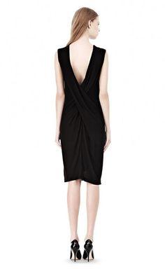 T by Alexander Wang Black Dress | VAUNTE