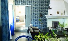 Dinlendirici ve rahatlatıcı özelliği ile bilinen mavinin huzur veren etkisi...  www.nezihbagci.com / +90 (224) 549 0 777  ADRES: Bademli Mah. 20.Sokak Sirkeci Evleri No: 4/40 Bademli/BURSA  #nezihbagci #Spring #Summer #wallpaper #floors #Furniture #sunshade #interiordesign #Home #decoration #decor #designers #design #style #accessories #hotel #fashion #blogger #Architect #interior #Luxury #bursa #fashionblogger #tr_turkey #fashionblog #Outdoor #summer #travel #holiday