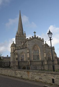 Derry Walls - St. Column's Cathedral  #ireland #derry #walls #europe #explore #politcal #history #travel #traveltherenext