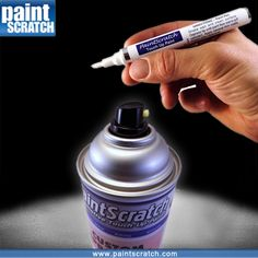 Paint pens are good for key scratches, small chips and also paint edges which have been scrapped. Anything larger and you should order the spray can.