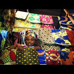 Fabric Sourcing #adayinthelife of our @indego_africa Rwanda team