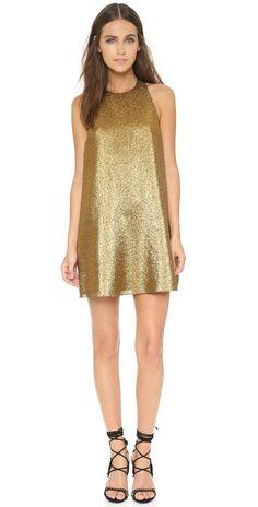 alice + olivia Harrison Flared Dress | SHOPBOP