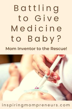 Do you have a baby who refuses to take medicine? Then you'll be relieved and grateful to discover there's a Mom Inventor on the case. Dorota Dyk has been working for 7 years on a solution for you, her invention Medapti. Be one of the first to get one and solve this frustrating problem while supporting this tenacious Mom Inventor - hurry over to our latest post now. *Only 5 days left to pre-order your Medapti. #howto #givemedicinetobaby #momstruggles #mominvented #solutions #medapti Get One, How To Get, Baby Medicine, Trials And Tribulations, Inventors, Second Baby, Having A Baby, Grateful