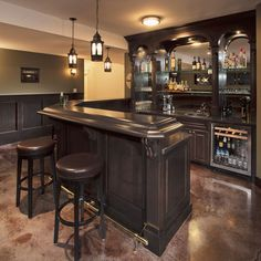 L-shaped Bar Design, Pictures, Remodel, Decor and Ideas - page 12