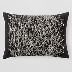"Kelly Wearstler Striscia Decorative Pillow, 14"" x 20"" - 100% Bloomingdale's Exclusive"