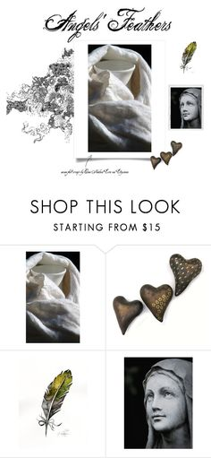 """""""Angels' Feathers"""" by onenakedewe ❤ liked on Polyvore featuring Polaroid"""