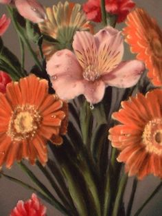 flower paintings, how to paint