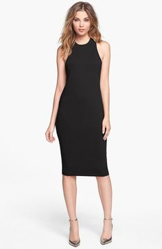 Leith 'Cut In' Tank Dress available at #Nordstrom