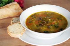 Výborná zeleninovo-drožďová polévka   Veganotic