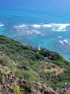 """I need you... like a lighthouse on the coast.""    ...View from the top of Diamondhead :)"