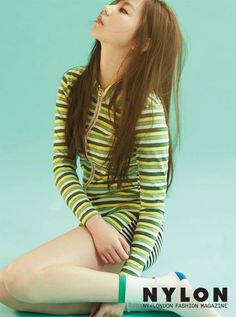 Sohee is as chic as ever in summer shoot with 'Nylon' | allkpop.com