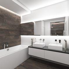 Badezimmer Design: Modern Modernes Badezimmer Liebenswert Badezimmer Modernes Modern Bathroom, Small Bathroom, Master Bathrooms, Bathroom Inspiration, Design Inspiration, Bathroom Pictures, Bathtub, House Design, Furniture