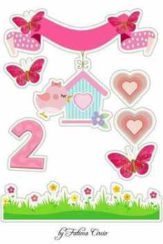 Diy And Crafts, Paper Crafts, Bird Party, Pink Bird, Cute Cartoon Wallpapers, Unicorn Party, Scrapbook Albums, Print And Cut, Paper Piecing