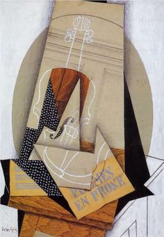 Composition with Violin - Juan Gris