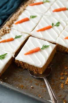Super Moist Carrot Sheet Cake With Cream Cheese Frosting. Moist Carrot Cake Recipe Easter Easy Dessert Nuts The . Our Most Popular Southern Dessert Recipes: Cake Vs . Home and Family Mini Cakes, Cupcake Cakes, Easter Recipes, Dessert Recipes, Frosting Recipes, Sweet Desserts, Carrot Cake Decoration, Sheet Cake Recipes, Recipe Sheet