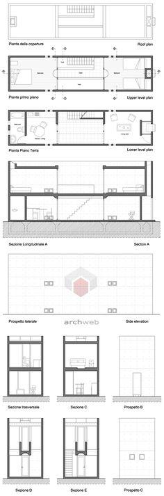 www.it/… Claudio Rebelo - Tadao Ando Tadao Ando, House Sketch, House Drawing, Bird House Plans, House Floor Plans, Casa Azuma, Row House Design, Victorian Terrace House, Building Images