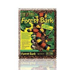 Sustrato Tropical Forest Bark EXOTERRA Los sustratos en terrarios naturales tienen muchas funciones y no son solo para decoración.
