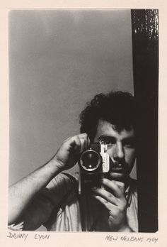 Danny Lyon Self-portrait, New Orleans, 1964